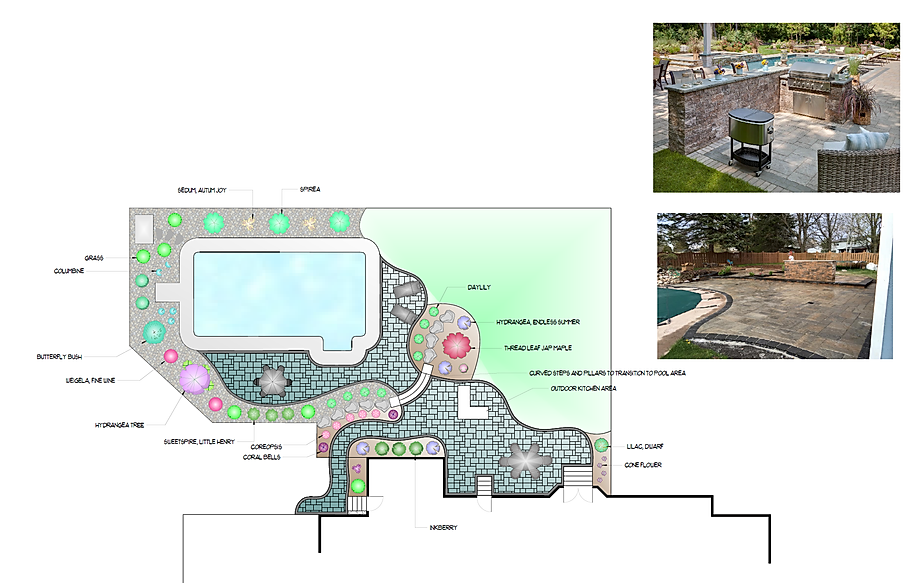 pool design, pool patio, backyard design