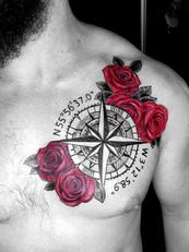 flower and compass tattoo.jpg