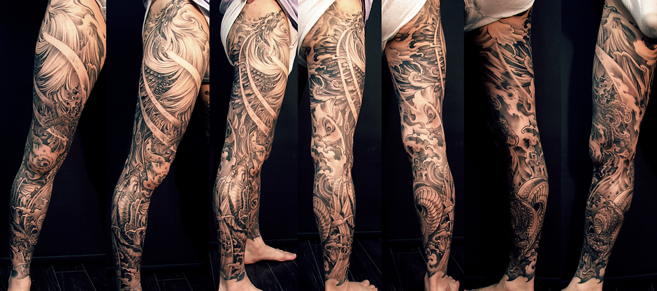 Leg-sleeve-phoenix-and-snake-tattoo.png