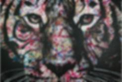 Tiger Art Grafy