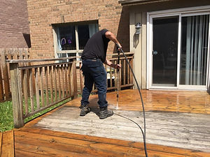 Residential Power Wash