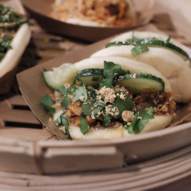 vegan gua bao for About You