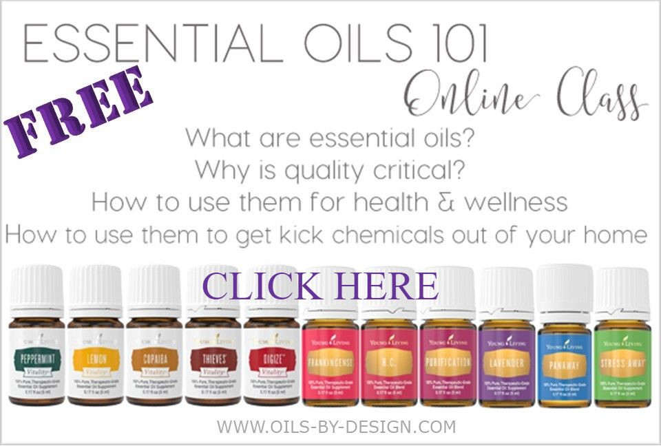 Free essential oils 101 online class