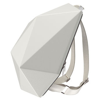 City Vagabond SuperHero Backpack White