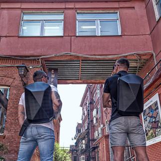 CVG EVO рюкзак полигональный