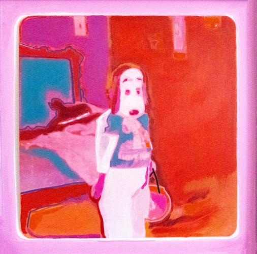 halloween self-portrait as snoopy, 2020