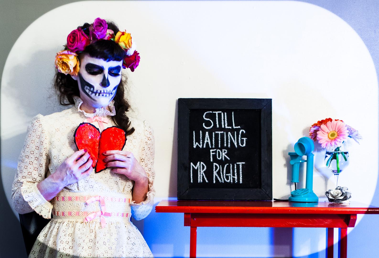 self-portrait: still waiting for mr. right, 2020