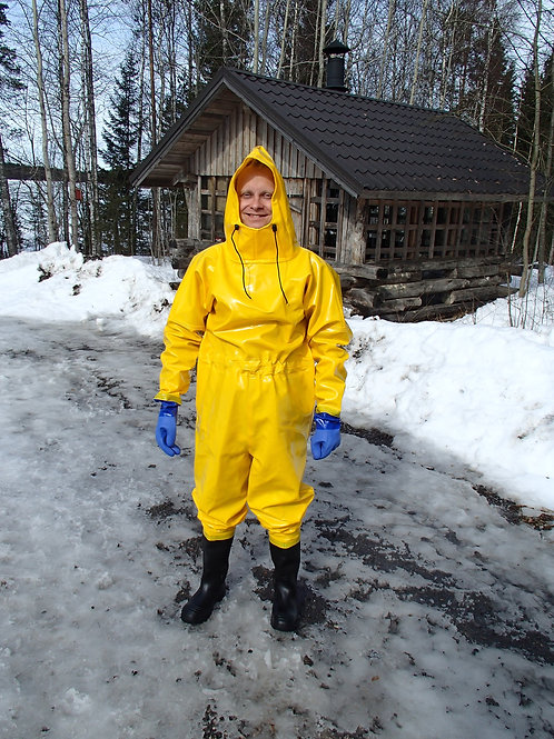 Extreme Drainage Coverall with optional boots and gloves