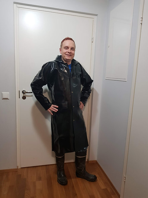 1000g Extreme Long Coat with Pockets