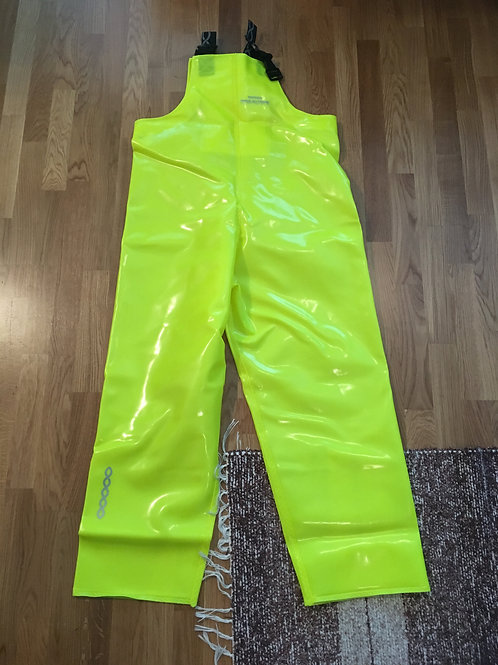 Fluo-Yellow heavy bibs size S/50
