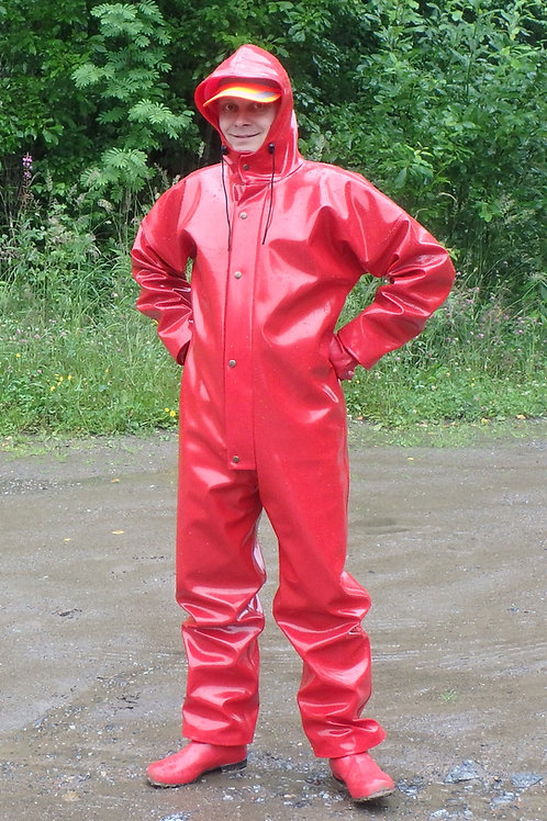 Red extreme coverall size S/50-2XL/58