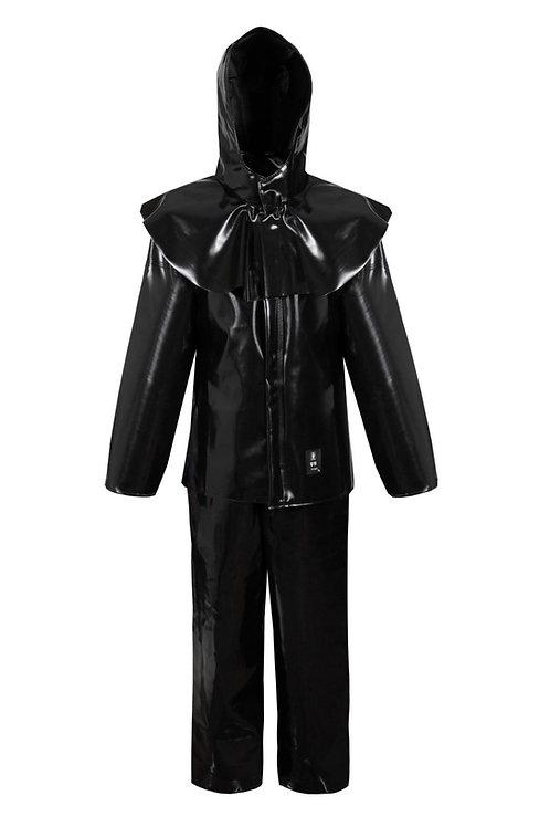 Acid-lyeproof clothing black