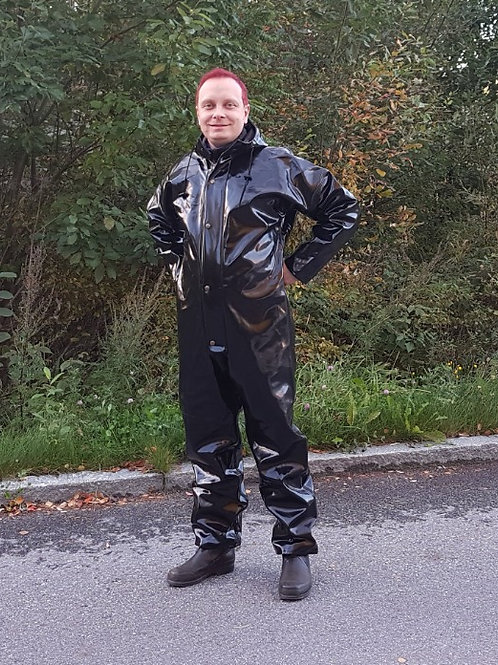 1000g Black Extreme coverall, 52-54
