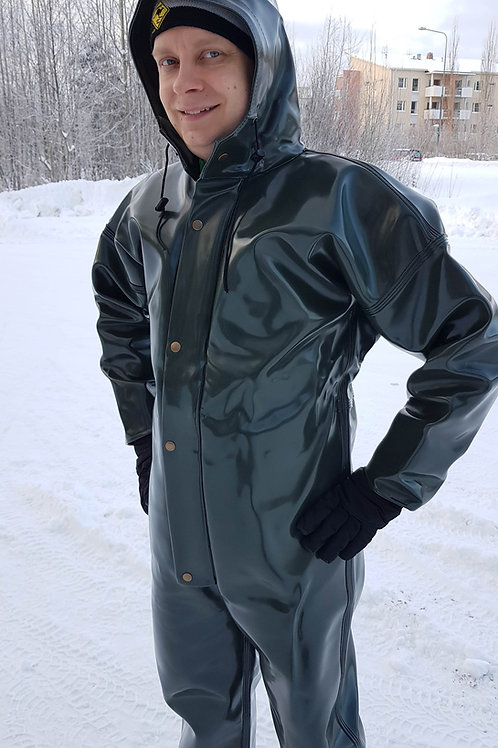 1000g Dark Olive Green Extreme coverall, S/50-XL/56