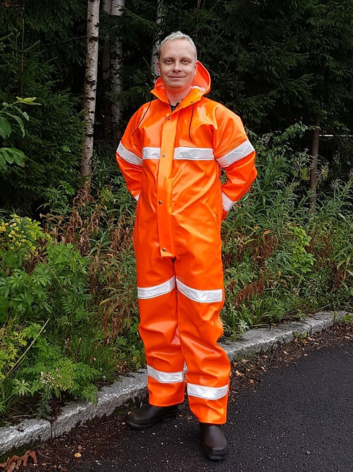 Extreme Coverall with reflectors