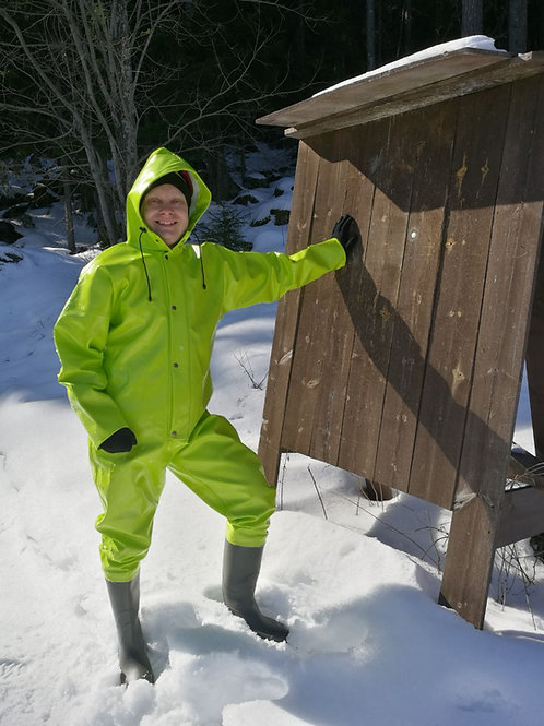 Extreme Coverall with optional boots and gloves