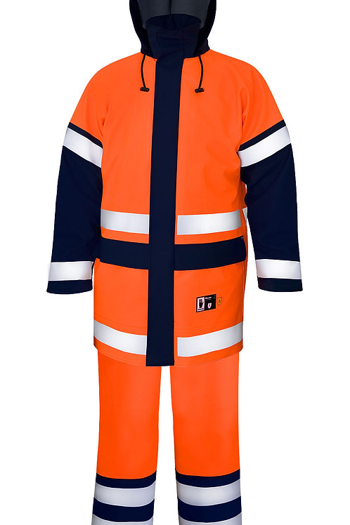 Flame retardant Hi-Vis suit