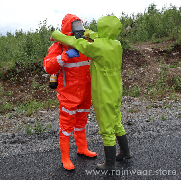The Extreme Drainage Coverall and the Extreme Coverall with Boots