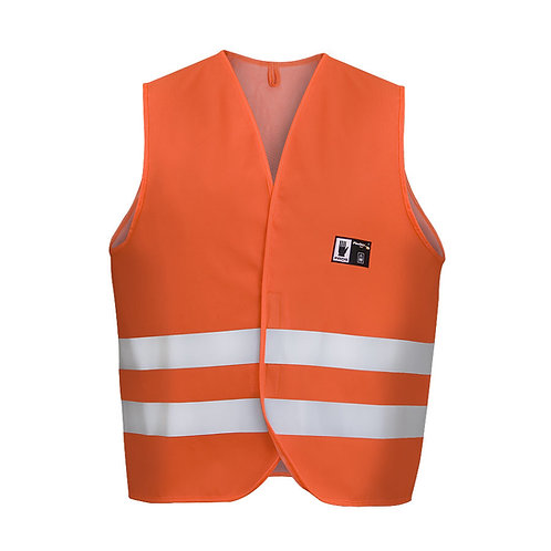 Waterproof warning vest