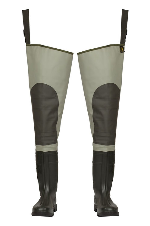Premium thigh waders, sizes 40-46