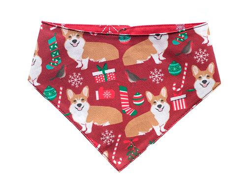 Bandana Christmas Corgis