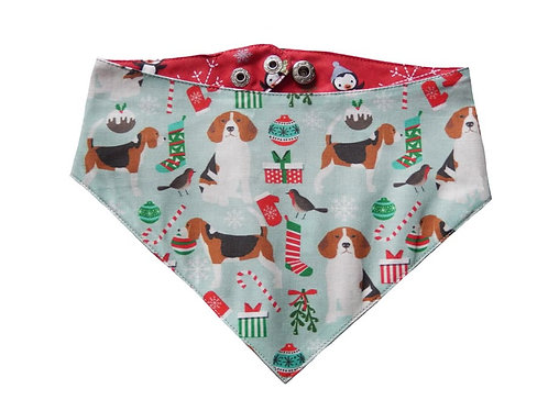 Bandana Christmas Beagle
