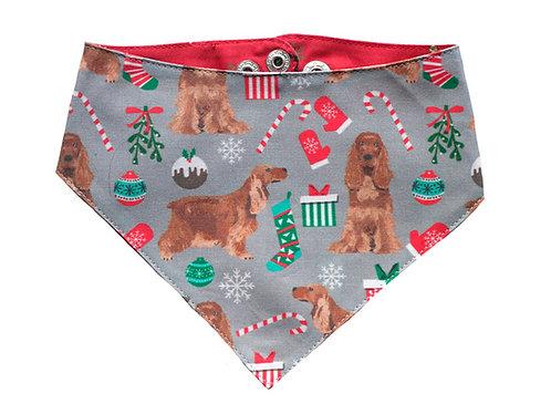 Bandana Christmas Cocker
