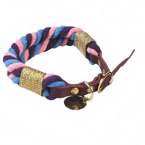 Collier Tricolore Violette