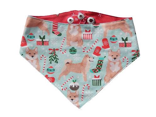 Bandana Christmas Shiba