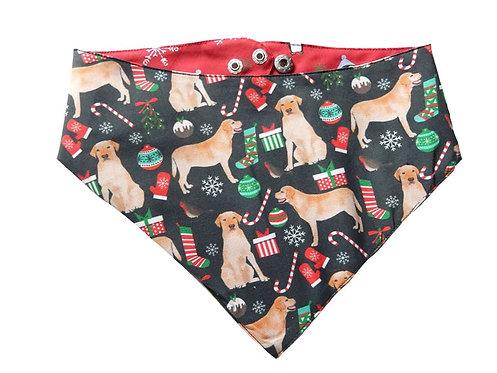Bandana Christmas Labrador