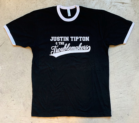 """Justin Tipton & The Troublemakers"" Baseball Tee"