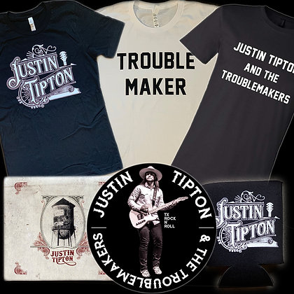 Any Shirt, CD, Sticker & Koozie!