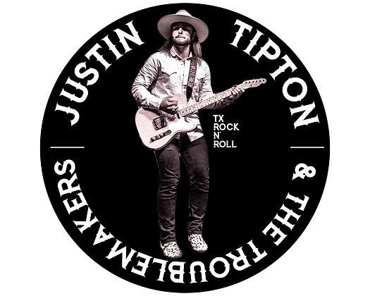 """TX Rock n' Roll Sticker - 6"""""""