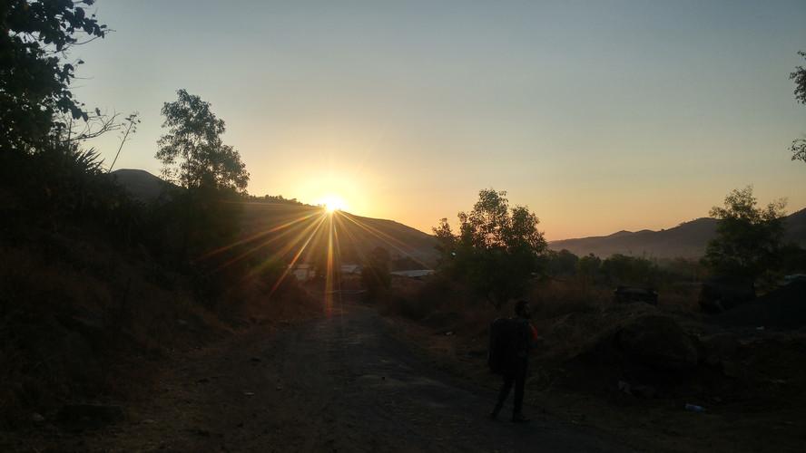 Sunrise at Serene Eco Village