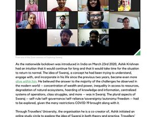 Exploring Swaraj featured in 'Extraordinary Work of 'Ordinary' People'