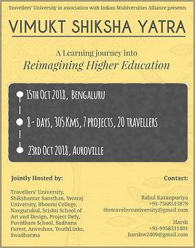Vimukt Shiksha Yatra