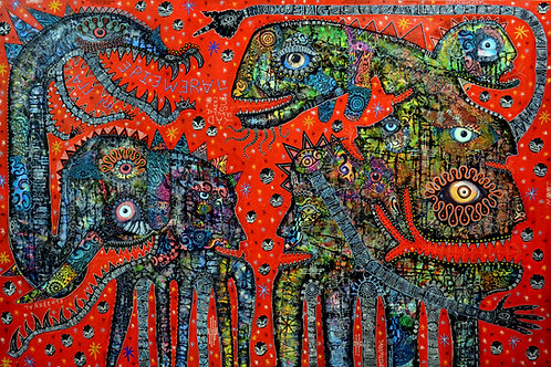 'All is ephemeral' giclee print 52cm x 38cm