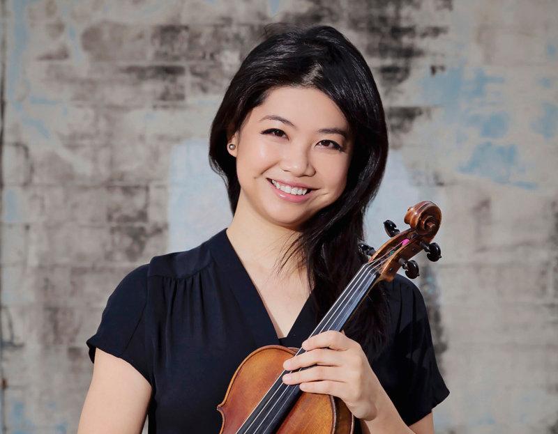 Pei-Ju Wu, violinist