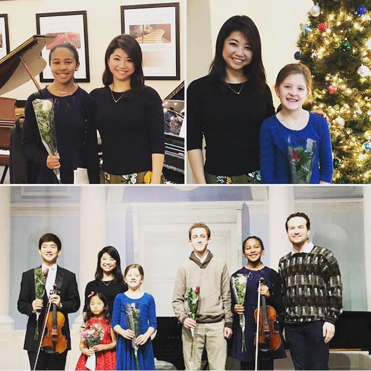 Pei-Ju Wu Violin Studio Recital