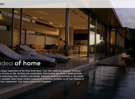 New Site Online: Crestron Home