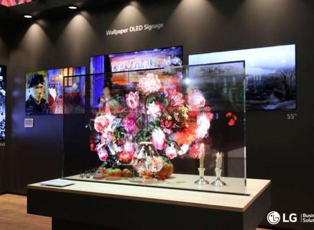LG Oled Transparent, il display per il digital signage di grande impatto
