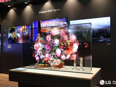 LG Oled Transparent, il display per il digital signage di grande impatto