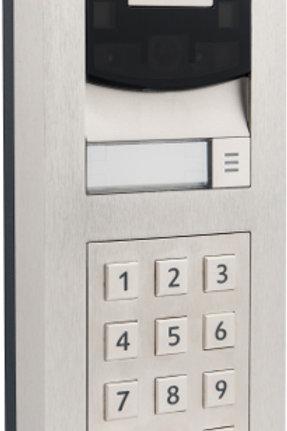 DS2FMKP-BN Videocitofono IP da incasso, con tastierino numerico integrato.