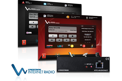 ATC-AUDIONET Scheda Internet radio.
