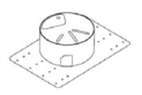 Bose® FreeSpace® 3‐II F Rough‐In‐Pan