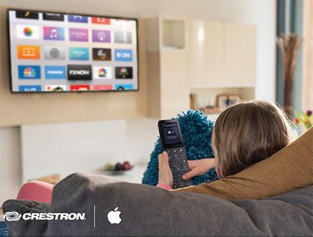 Crestron Smart Home migliora il tuo stile di vita con il nuovo supporto per Apple TV