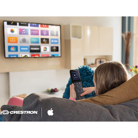 crestron apple
