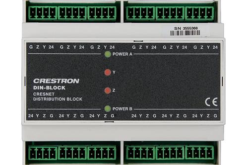 DIN-BLOCK Modulo distributore di bus CresNet
