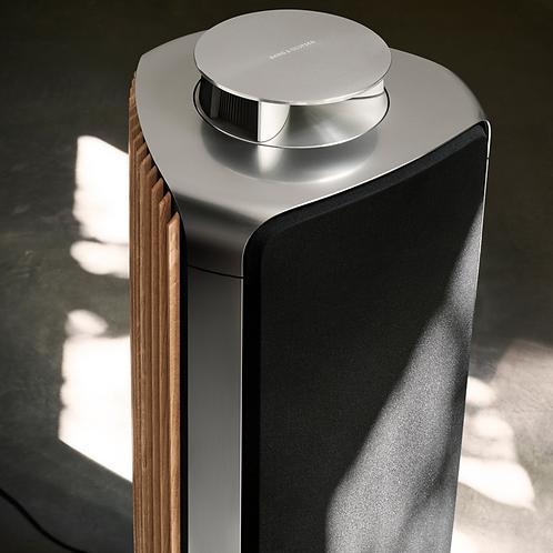 BeoLab 50 master (senza cover anteriore, tessuto nero e panelli laterali, rovere