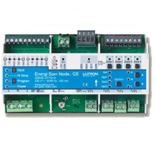 LQSE-4T10-D 4 Switched Zones, each with a 0-10 V Channel, 10 A Switching Capacit